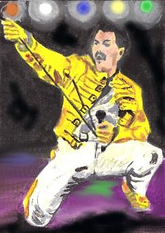 Freddie Mercury by brainfree